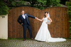 Eine deutsch-englische Hochzeit in Bayern