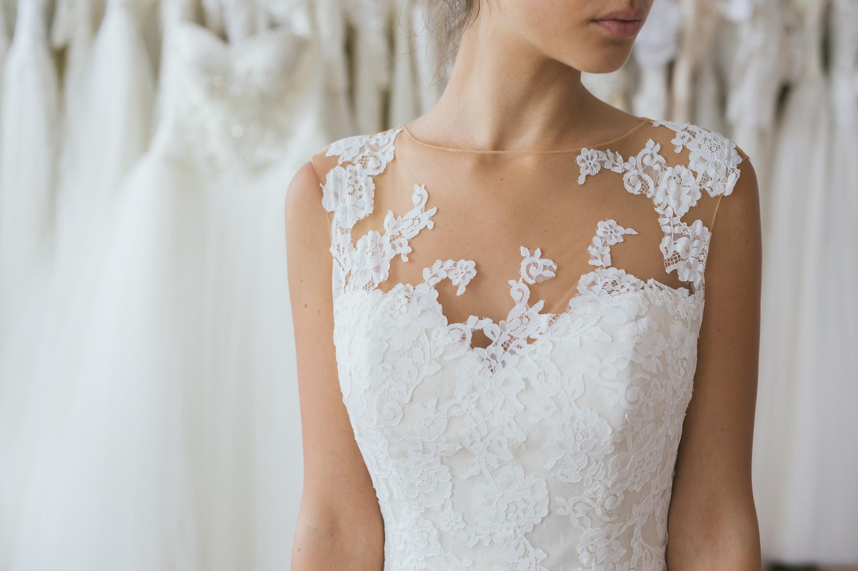 Das richtige Brautkleid bei kleiner Oberweite - Hochzeitsmagazin