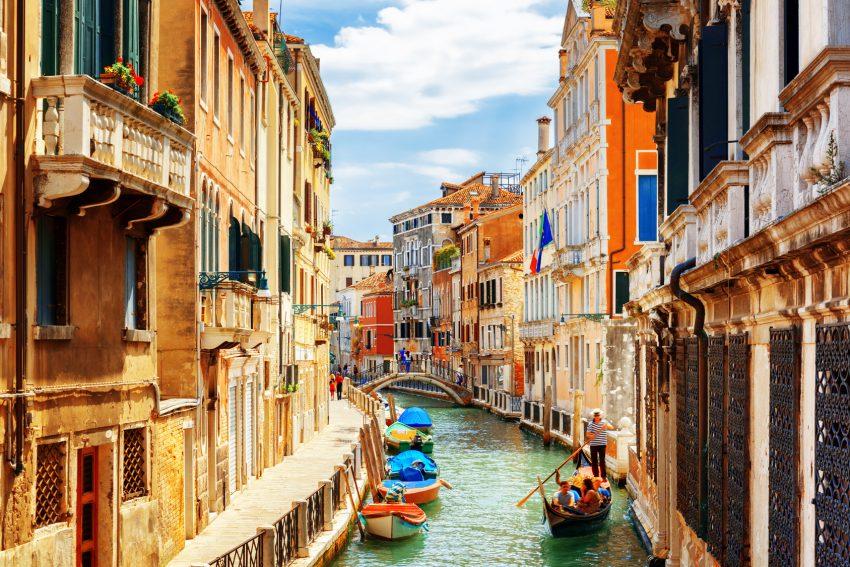 Rio Marin Canal Venedig
