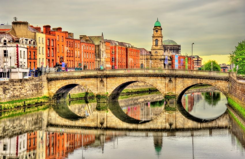 Mellows Bridge in Dublin - Ireland