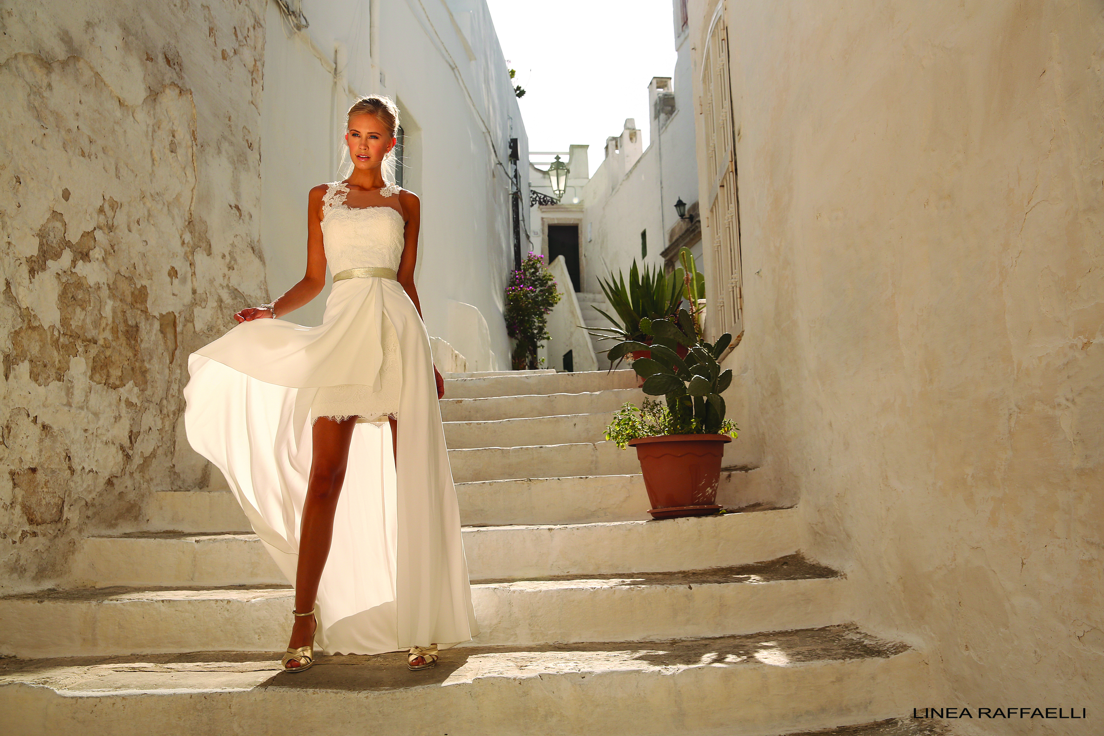 Luftig und schick - kurze Brautkleider zur Hochzeit ...
