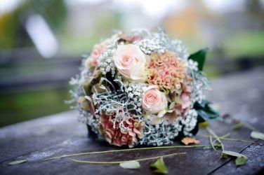 winterlicher Brautstrauß