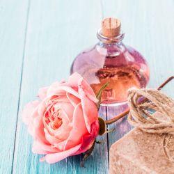 Handgemachte Seife und Aromaöl