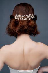 Brautfrisur mit Kopfschmuck