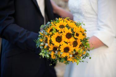 Monothematischer Brautstrauß