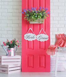 Dekoration Hochzeit Pink Vintage