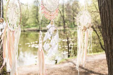 Boho Hochzeitsdekoration Traumfänger