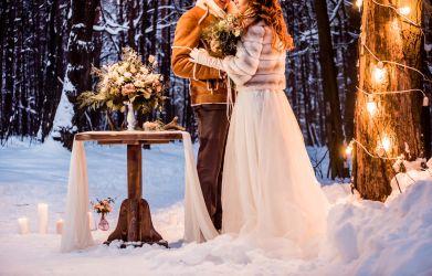 Winter Hochzeit