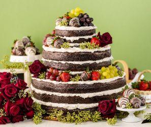 Naked Cake schokoladig