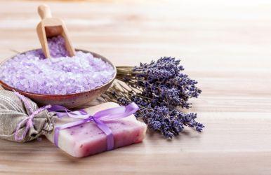 Handgemachte Lavendelseife