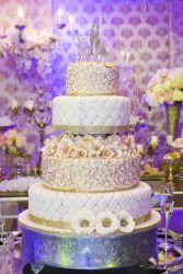 Opulente Hochzeitstorte