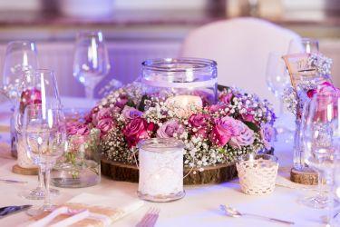 Vintage Hochzeitsdekoration