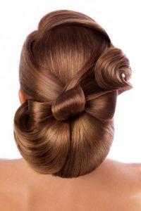 Aufwendiger Haarknoten